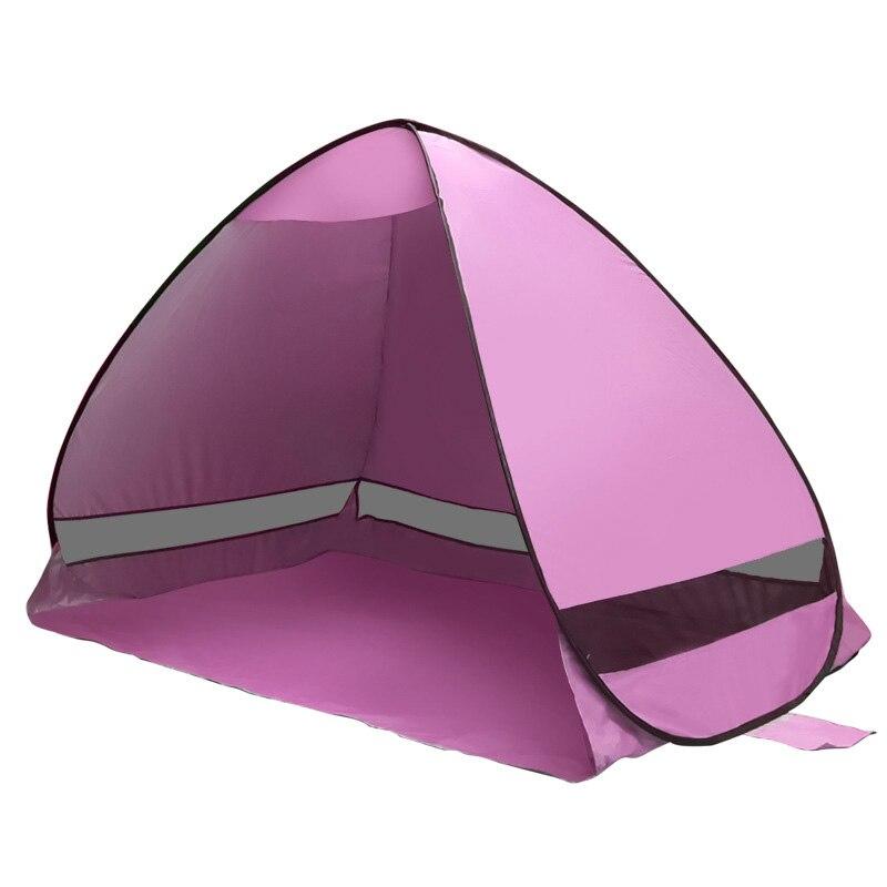 Automatique Camping Plage Tente Pop Up Instant Ouvert Anti UV Auvent Tentes En Plein Air Sunshelter ALS88