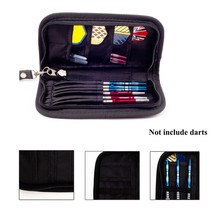 1 Set Darts Carry Case Accessories Large Capacity Wallet Pockets Holder Storing Bag Black Durable