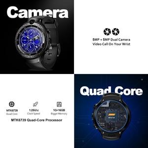 """Image 3 - [Darmowe słuchawki TWS] Zeblaze THOR 4 Dual 4G SmartWatch 5.0MP + 5.0MP podwójny aparat 1.4 """"AOMLED GPS/GLONASS 1GB + 16GB Smart Watch Men"""