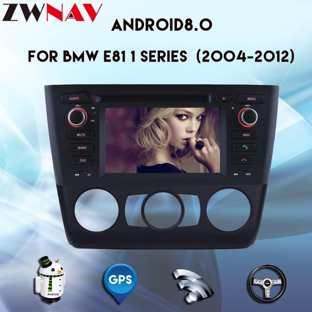 8 core Voiture Lecteur Multimédia Android 8.0 autoradio Pour BMW 1 Série E81 E82 E88 voiture lecteur dvd gps navigation radio auto stéréo