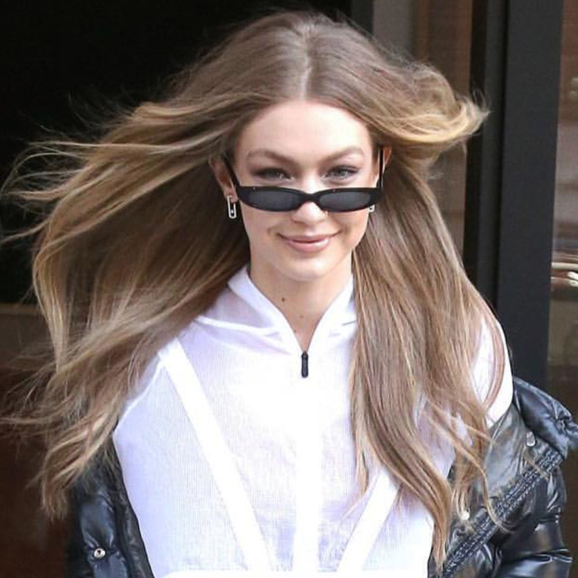 eaf0930cc MISM Vintage Gigi Hadid Small Sunglasses Women High Street Fashion Goggles  UV400 Eye Lenses Cateye Oculos Retro Black Spectacle