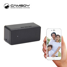 Table Clock Camera Alarm Setting 720P HD H 264 Mini Camera IR Night Vision Wifi IP