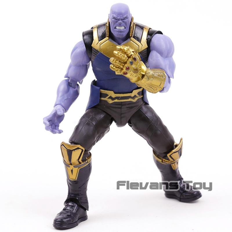 SHF S.H.Figuarts Marvel Avengers 3 Infinity War Thanos PVC Action Figure Collectible Model Toy action figure marvel avengers 3 infinity war figure thanos pvc avengers infinity war thanos figure collectible model toys light