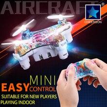 Cheerson rtf zangão cx-10d/ds smart q 4ch 6 axis mini rc quadcopter 2.4G Telefone Wifi Pad Brinquedo do RC Luzes LED 3D Flips/Rolos de Aeronaves