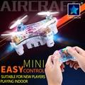 Cheerson rtf drone cx-10d/ds smart q 4ch 6 ejes mini rc quadcopter 2.4G Teclado Del Teléfono Wifi RC Juguete Luces LED 3D Voltea/Rollos de Aviones