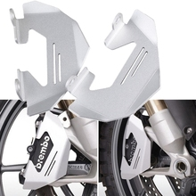2pcs Motorcycle Accessories Front Brake Caliper Cover Guard For BMW R NINE T R1200GS LC ADV R9T R 1200GS 2013-2017 2016 2015 for bmw r 1200gs r 1200gs adventure r 1200r r 1200s r 1200st front brake clutch reservoir cover