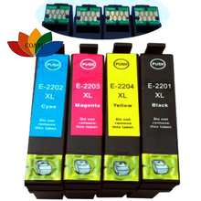 4 Pack Compatible T220XL 220XL Ink CARTRIDGE FOR Epson WorkForce WF-2650 WF-2630 WF-2260 Printer