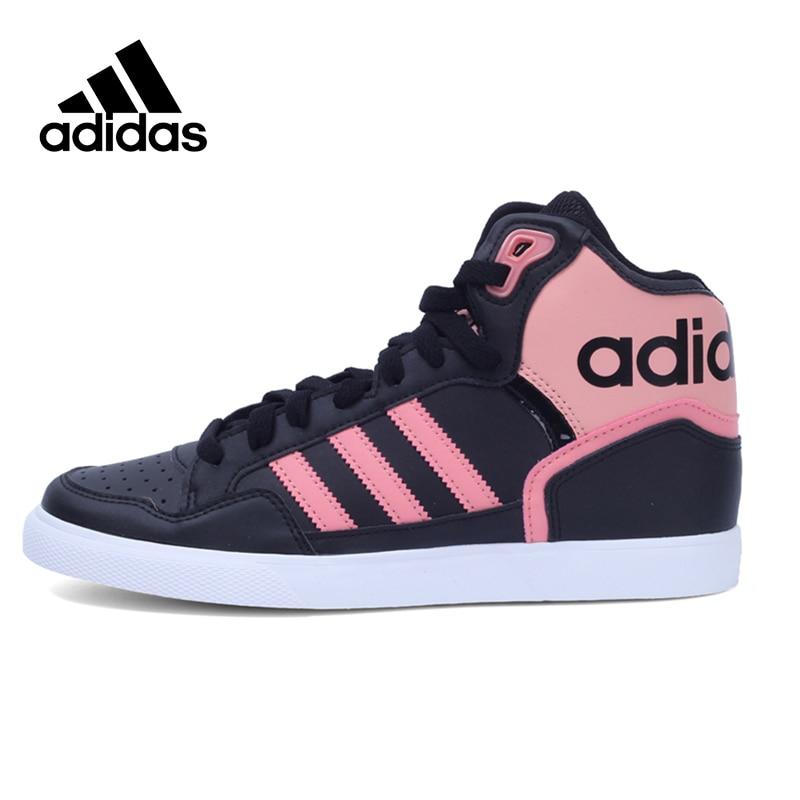 цены на Original Official Adidas Originals Extaball W Women's Skateboarding Shoes Women Sneakers High Top Leisure New Arrival в интернет-магазинах