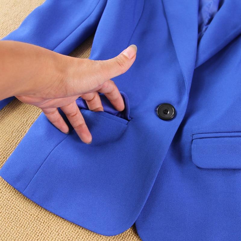New Blazers Suit Solid Simple Women Pants Suits 2 Two Piece Sets Long Slim Jacket & Pants Female High Quality Lady Suit