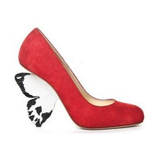 Newest High Quality Women Shoes Hot Sale Fashion Cheap Price Ankle Big Size 11 Newest Butterfly Heels Shoes Round Toe Platform