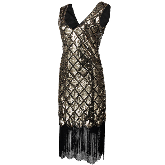 1920s flapper outfit for women