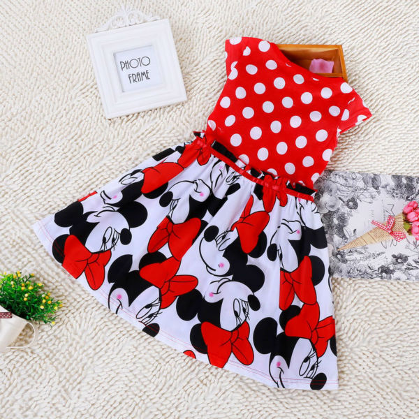aa1a57ff4 Animal mouse girls kids dresses for girls high quality nice dresses for kids  fashion mickey mouse cosplay costume factory price-in Dresses from Mother  ...