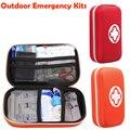 Kits de emergencia de primeros auxilios kit de supervivencia al aire libre senderismo viajes paquete de tratamiento médico de emergencia conjunto EVA bolsa bolsa 18 tipo/paquete