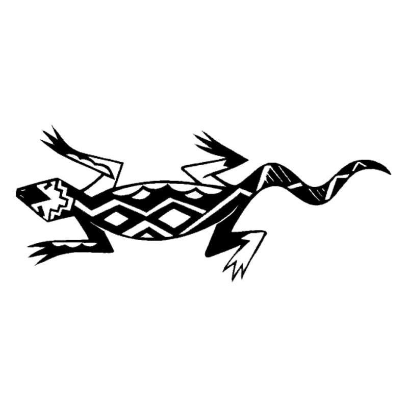 18*7.8 см модные юго Книги по искусству lizard vinyl Наклейки для автомобиля Творческий Мотоцикл Грузовик наклейка черный/Серебряный c9-2196