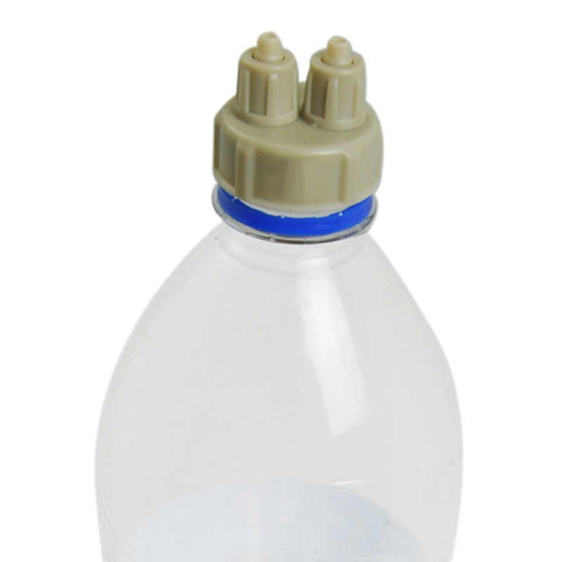 1 حزمة حوض السمك نظام CO2 زجاجة كاب كيت مع 2 المشتركة موزع الهواء مولد أداة جزء كيت للاسماك خزان DIY