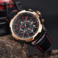 Pagani design hombres relojes de cuarzo analógico luminoso fecha reloj hombre militar del ejército reloj de pulsera marca de lujo de los hombres relojes del deporte