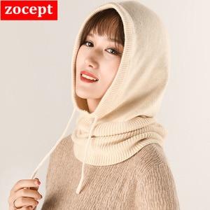 Image 2 - Bonnet en laine tricoté pour femmes