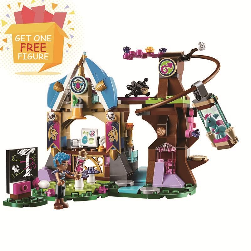 Bela Pogo Compatible Legoe Friends Magical Bakery House Elves Princess Fairy Girls Building Blocks Bricks toys for children princess ponies 6 best friends for ever
