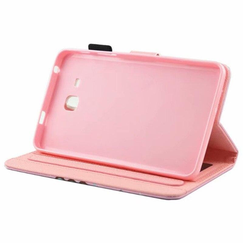 Новый чехол Tab A6 7,0 для Samsung Galaxy Tab A 7,0 T280 T285, чехол с откидной крышкой и модным рисунком для планшета, Модный чехол-книжка с рисунком, чехол-книжка, чехол для SM-T280-5