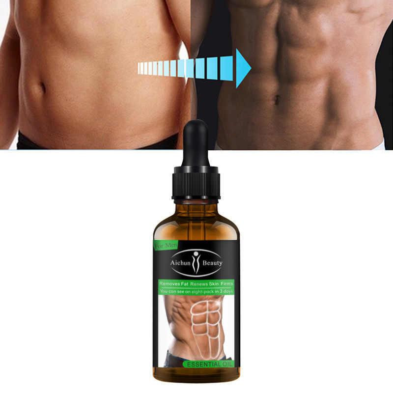 กล้ามเนื้อหน้าท้องครีมน้ำมันหอมระเหย 30 มิลลิลิตรร่างกายเจลลดไขมันไขมัน Burning Oil สำหรับลดหน้าท้องน้ำหนักผลิตภัณฑ์การสูญเสีย