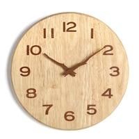 Large Modern Wall Watch Quartz Silent Big Kids Nordic Vintage Home Cuckoo Clock Kitchen Shabby Chic Wandklokken Oclock 50B0057