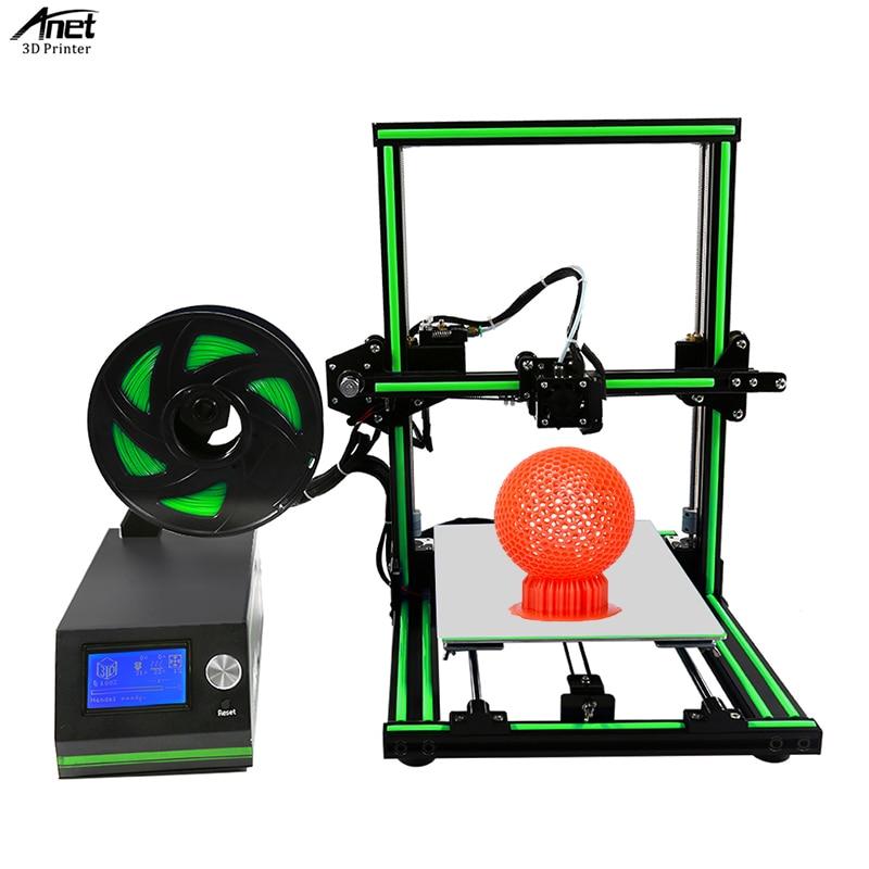 Anet E10 imprimante 3D cadre en alliage d'aluminium assemblage facile grande taille 300X300X400 MM imprimante 3D kit de bricolage Machine d'impression 3D