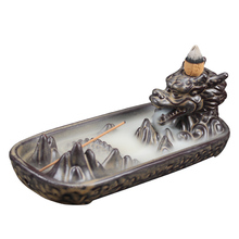 Ceramic Dragon Incense Burner