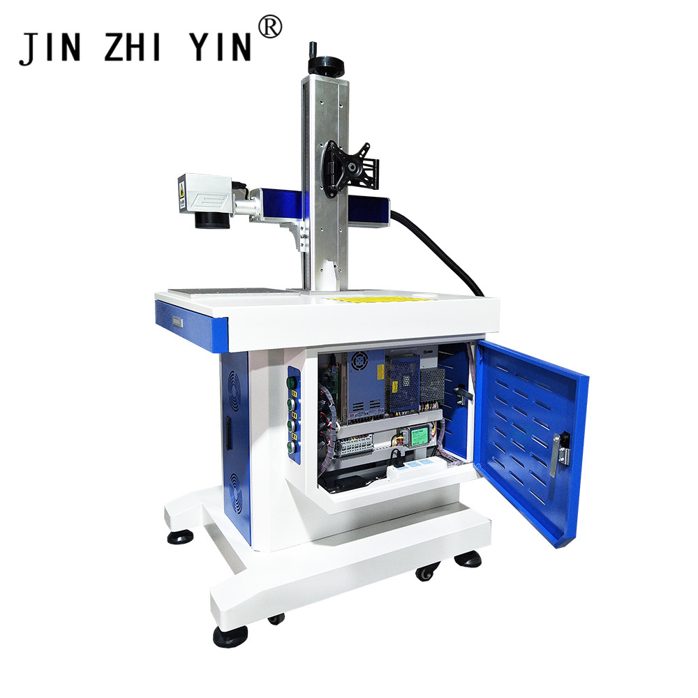 High Quality Desktop Fiber Laser Marking Machine Used For Engraving A Variety Of Metals