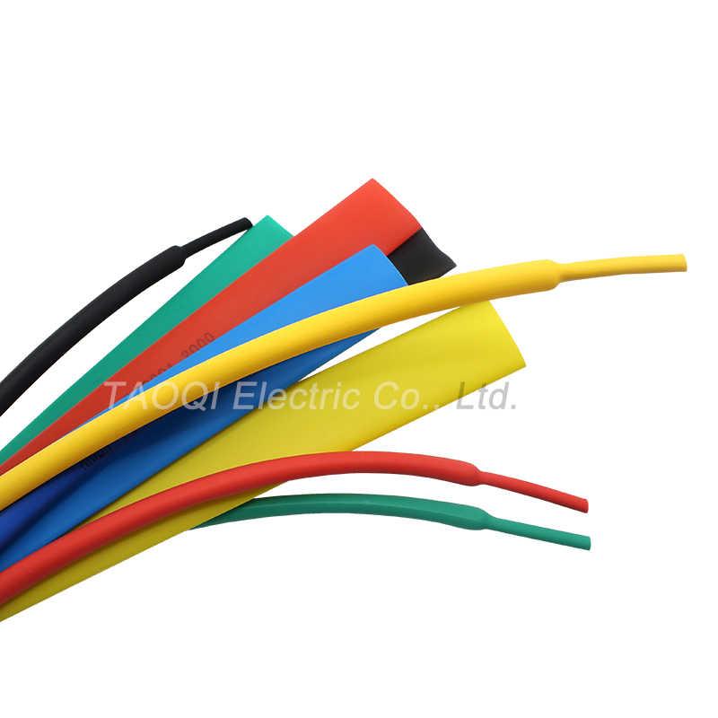 1 mètre/lot 1mm thermorétractable Tube tube Wrap thermorétractable Tube thermorétractable câble manchon fil Kit Pls utiliser un pistolet à chaleur pour rétrécir