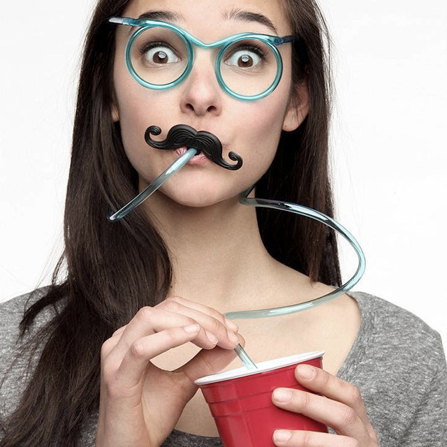Flexible Tube Drinking Glasses