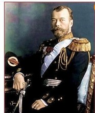 100% Handicrafts Modern Art oil painting portrait of CZAR NICHOLAS II 24x36