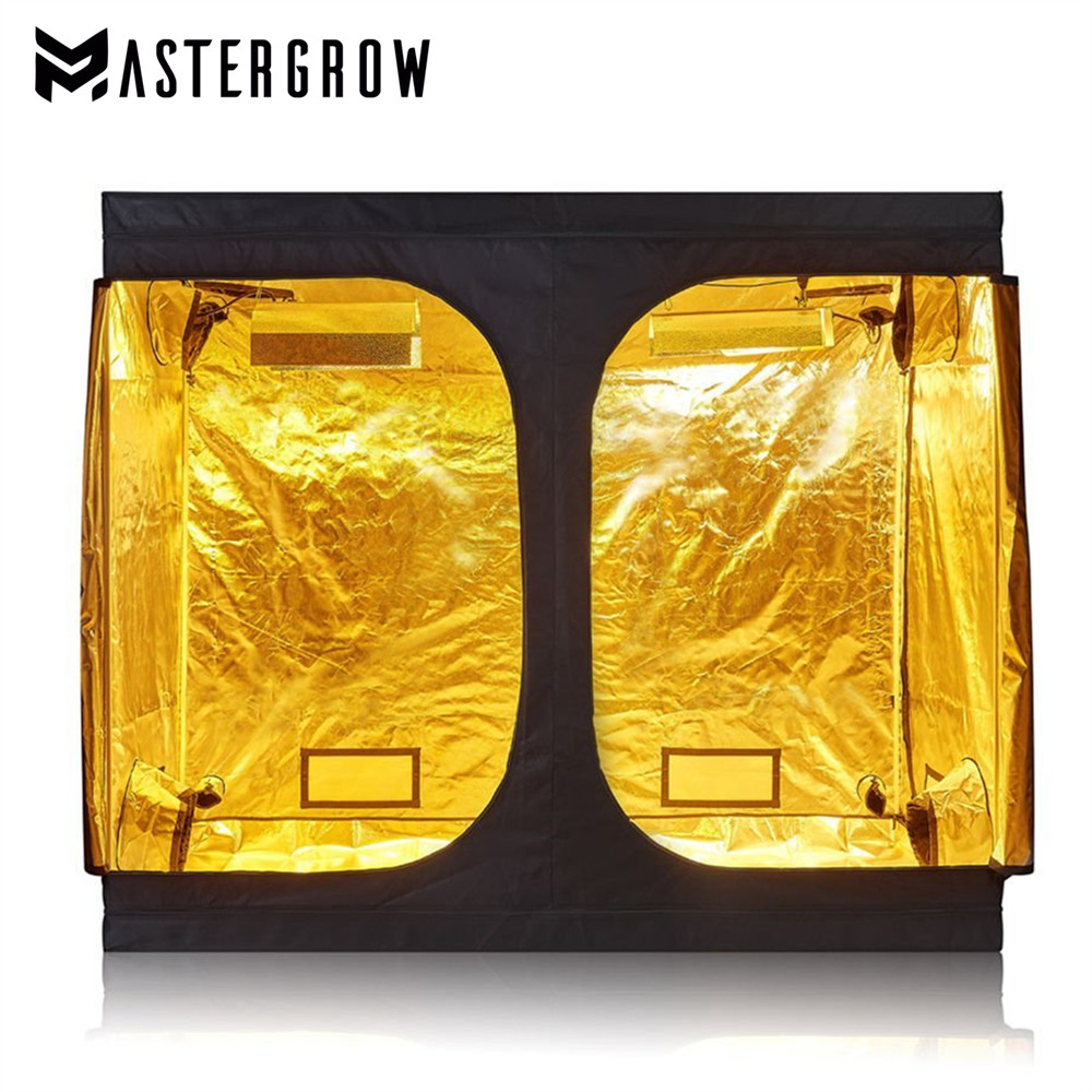 MasterGrow 240X120X200cm Indoor Hydroponics <font><b>Grow</b></font> <font><b>Tent</b></font>,<font><b>Grow</b></font> Room Box Plant Growing, Reflective Mylar Non Toxic Garden Greenhouses image