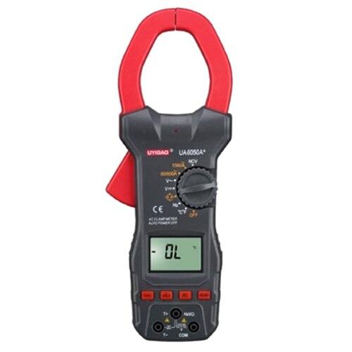 UYIGAO UA6050A+ 3 1/2 AC Digital Clamp Meter 1500A WITH NCV renfert mt 3 ua купить