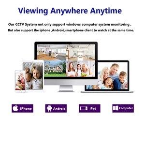 Image 5 - מטריקס SONY 335 IR HD 5MP CCTV 4CH DVR מעקב ערכת 36 PCS IR CUT נוריות מערך מתכת עמיד למים 5in1 5MP DVR אחריות 3 שנים