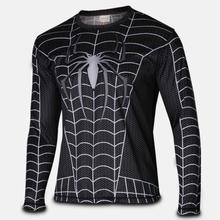 Long Sleeve t Shirt Fashion Super Heroes Shirt Men's Clothing Jersey Flash fast dry XS-4XL