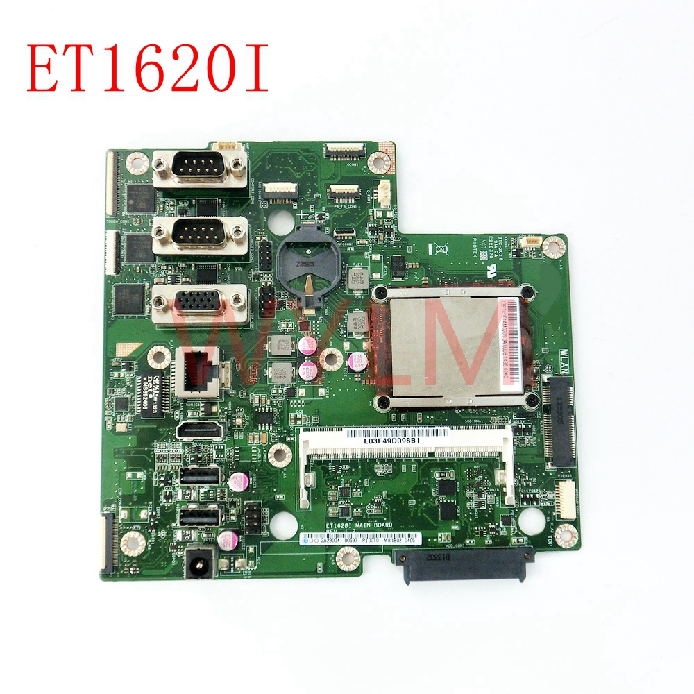 цена ET1620I All-in-one mainboard REV 1.2 For ASUS ET1620I Desktop motherboard MAIN BOARD 100% Tested Working
