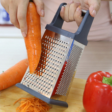 4 Plane Stainless Steel Graters Fruit Vegetable Tool Shredder Slicer cutter Cooking Home Kitchen gadgets Dining bar Accessories