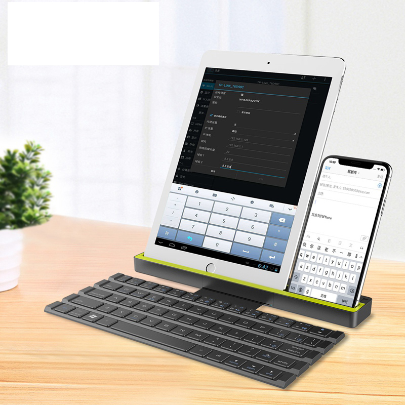Foldable Bluetooth Keyboard for Huawei mediapad M5 10(PRO) CMR-AL09/CMR-W09 Tablet PC for Huawei M5 pro keyboard srjtek 10 8 for huawei mediapad m5 lcd display cmr al09 cmr w09 matrix touch screen digitizer panel sensor glass tablet parts