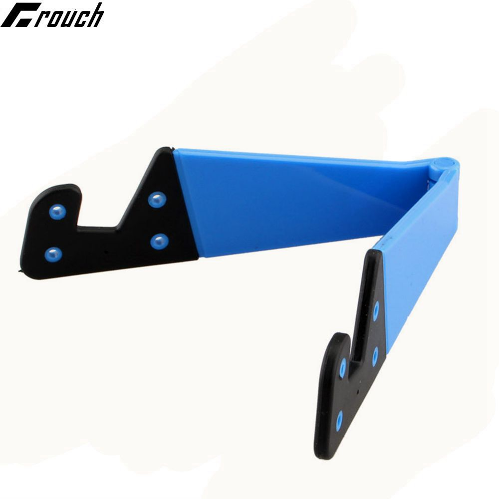 Crouch Universal V folded Phone Holder Tablet Stands Phone Desk Stand Mount Holder Cradle for iPhone5 6 7 iPad plus Samsung HTC