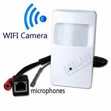 720 P мини ip-камера с WI-FI порт Скрытой Камеры Детектора Движения HD ПИР СТИЛЬ Беспроводная Ip-камера mini ip-камеры, wi-fi P2P безопасности