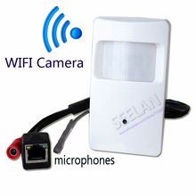 720 P mini cámara IP con WIFI puerto Cámara Oculta Detector de Movimiento HD PIR STYL Cámara mini cámara ip wifi P2P IP Inalámbrica seguridad
