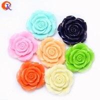 Cordial Дизайн 50 шт./лот 42 мм ссылку для выбрать сочетание цветов Коренастый Смола розы бусины Bubblegum DIY ювелирных CDWB-510093