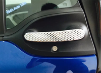 Accessories For Mercedes Benz Smart Fortwo 2015 ABS Side Door Handle Bowl Handel Cover Trim A
