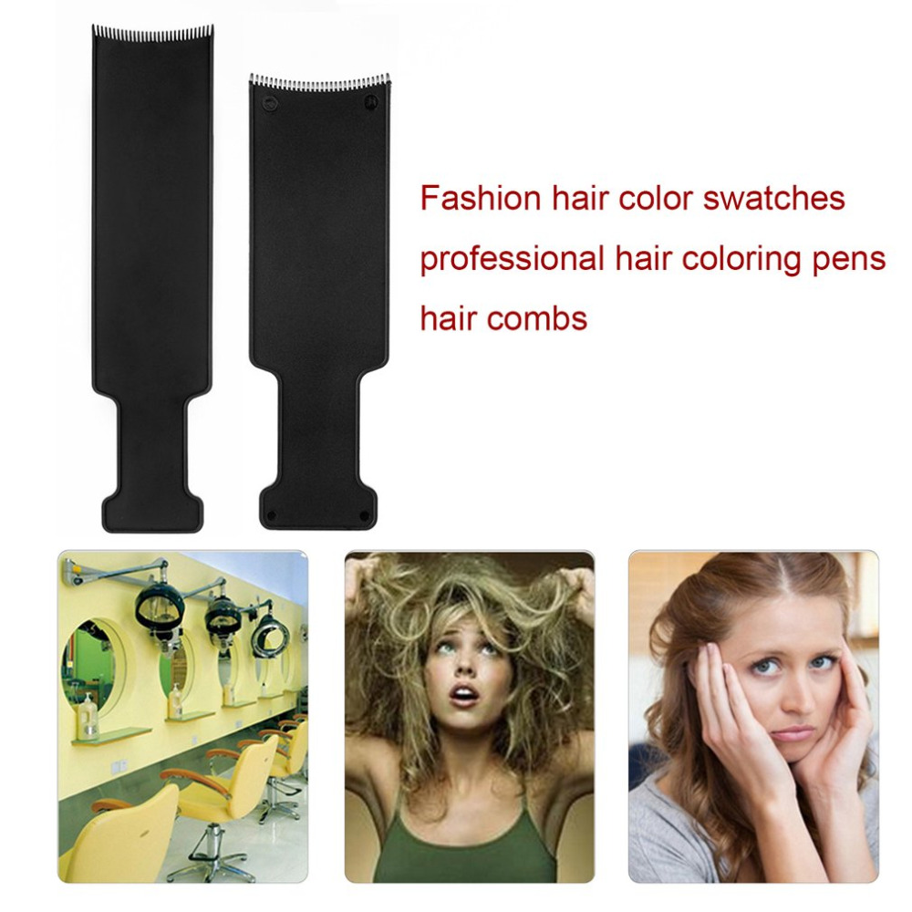 Professional Comb Hairdressing Pick Color Board Hair Dye Color Brush