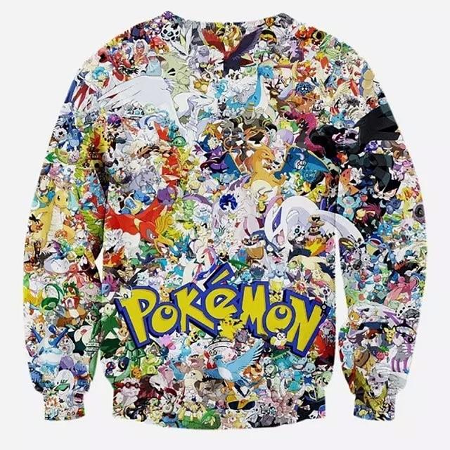 Hoodies Pokemon Sweatshirt