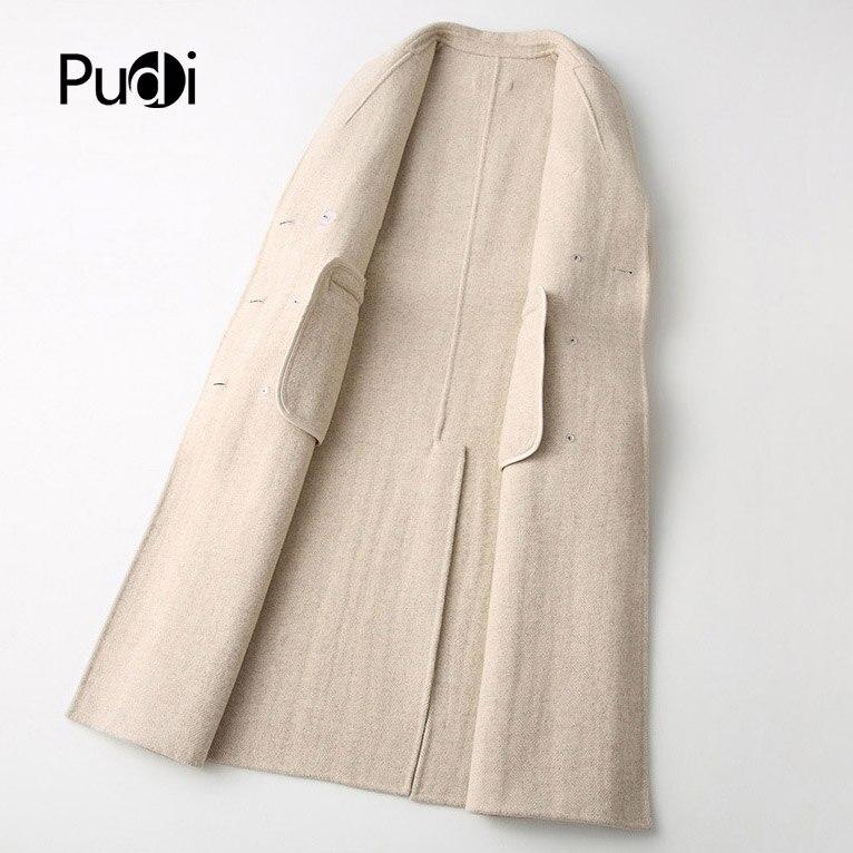 Costume Veste Poche 2018 Manteau Pudi Laine Ro18078 Hiver Dame Style Loisirs Solide Femmes Avec Long Automne Nouveau PZikuOX