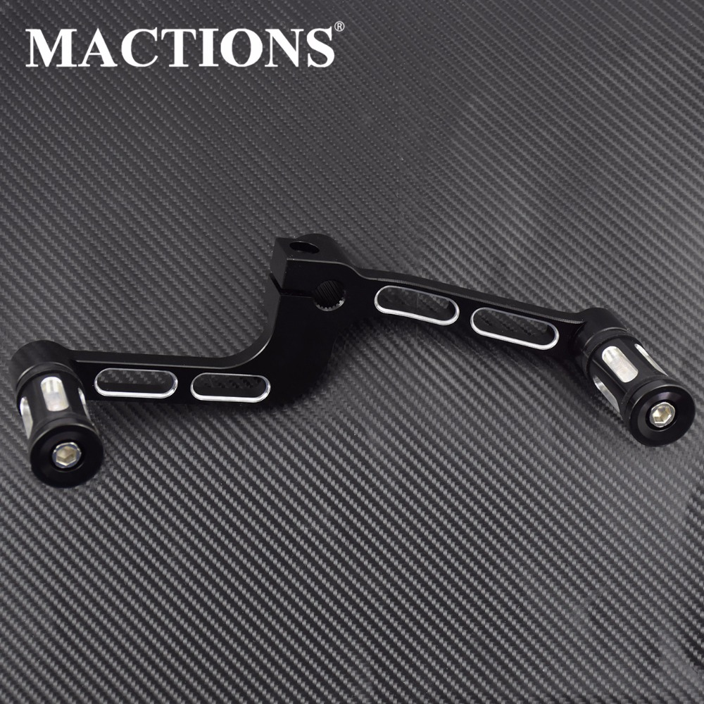Motorcycle CNC Heel Toe Shift Lever Pedal Shifter Pegs FootPegs For Harley Sportster XL883 XL1200X Forty Eight XL1200CX Roadster