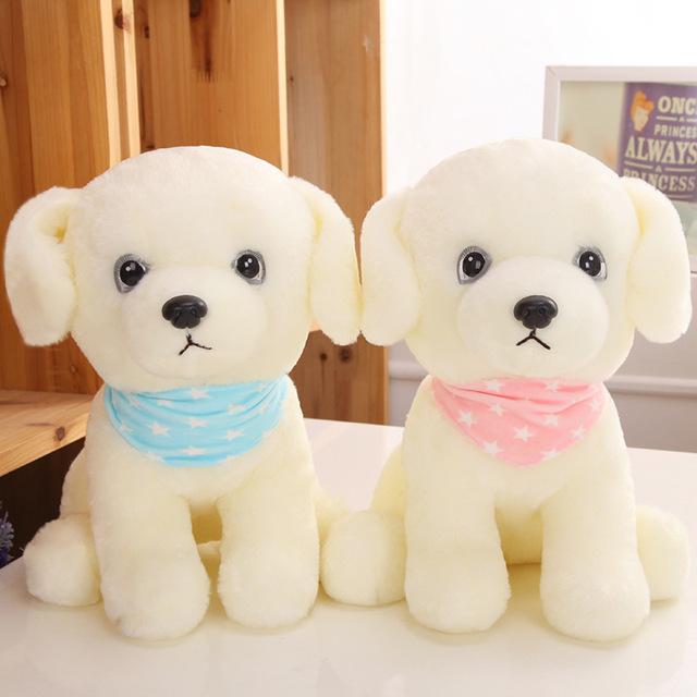 1 unids Cachorros De juguetes de Peluche muñecas creativos muñecos de peluche Husky niños juguetes de Cumpleaños para enviar a las niñas pequeños regalos