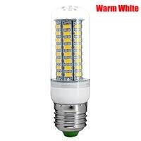 High Quality 10PCS 220V 25W E27 5730 Super Bright 72SMD LED Corn Lamp Bulb Warm White for living room bedroom art show etc