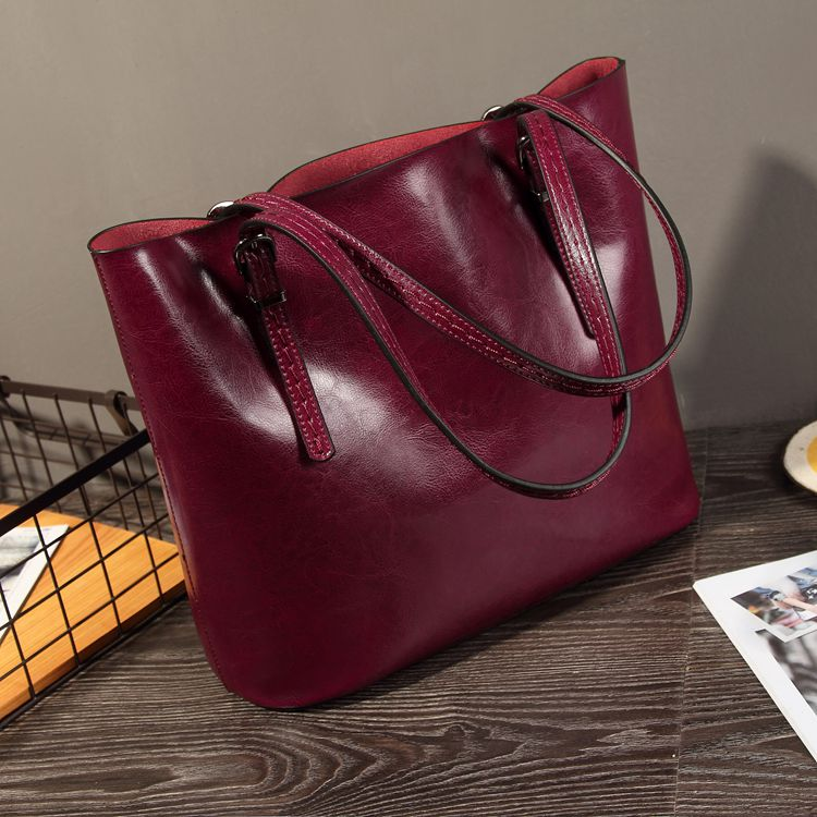GESUNRY Brand Genuine Leather Bag Women leather Handbags messenger Bags Ladies Shoulder Bag purses handbags Bolsos